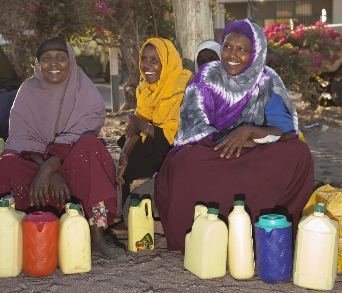 Dairywomen in Isiolo